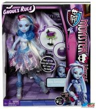 """Monster High """"""""Ghouls Rule"""""""" Abbey Bominable Plastic Doll and Accessories"""