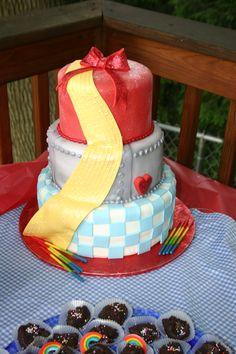 Wizard of oz cake!