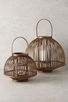 Bamboo Kasa Lantern - anthropologie.com
