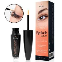 446a8579925 Eyelash Growth Serum for Lash and Brow Irritation Free Formula Eyelash  Growth Serum, Eyelashes,
