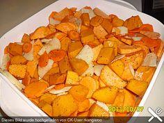 Kartoffel - Kürbis - Karotten - Auflauf