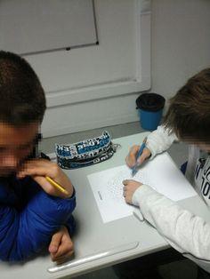 As nossas alunas e os nossos alunos do 2º e 3º CEB no intraturmas dos jogos matemáticos