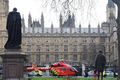 House of Commons and Westminster Bridge attack – in pictures
