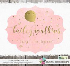 logo designs premade logo balloon logo photography by autumnscreek Balloons Photography, Photography Logos, Logan, Balloon Logo, Examples Of Logos, Name Card Design, Logo Real, Logo Color, New Fonts