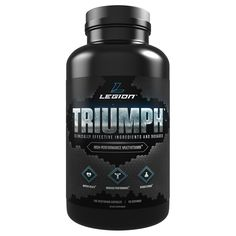 Legion Triumph Daily Multivitamin Supplement - Vitamins and Minerals for Anxiety, Depression, Stress, Immune System, Heart Health, Energy, Sports & Bodybuilding.