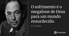 Cs Lewis, Jesus Crist, Jesus Is Life, Sentences, Einstein, Writer, Inspirational Quotes, Faith, Sayings