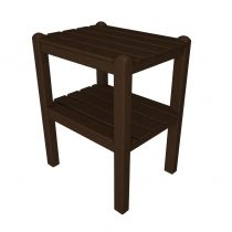 Polywood Side Tables | Outdoor Side Table | Patio Side Tables | Recycled Plastic Side Tables