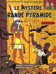 Blake & Mortimer: Het Geheim van de Grote Piramide (1) 1954