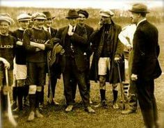 Michael Collins with the Kilkenny team, 1921