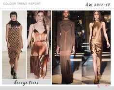 bronze colour trend