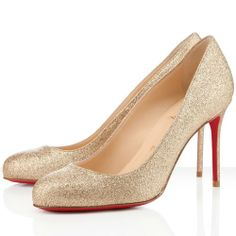 39df3951c9b5 Discount Christian Louboutin Fifi Glitter Pumps Nude Outlet Online For Sale
