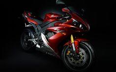 Yamaha YZF-R1, sportbikes, darkness, japanese motorcycles, Yamaha