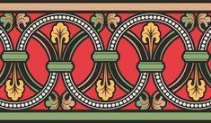 Орнаменты и узоры's photos Textile Pattern Design, Pattern Art, Border Pattern, Border Design, Craftsman Wallpaper, Textile Prints, Art Prints, Folk Art Flowers, Border Embroidery Designs