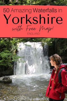 Visit Yorkshire, Yorkshire Dales, North Yorkshire, Places To Visit Uk, Places To Travel, Famous Waterfalls, Beautiful Waterfalls, Waterfalls In Yorkshire, European Travel