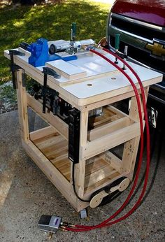 Woodworking Jigs New Mobile Work Station