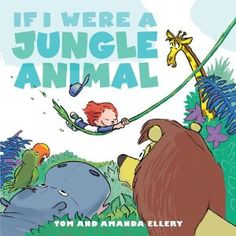 If I Were a Jungle Animal: For my son! Book about a little boy daydreaming in the outfield during his t-ball game. Cutest book =)