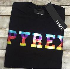 PYREX RAINBOW #new #collection #pyrex #pyrexoriginal #new #collection #fallwinter16 #streetstyle #nothingbetter #rainbow #sweatshirt #pyrexstyle #winterstyle
