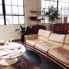 """Safari and Saarinen dreaming @thegoodmod with @small_snap"""