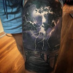 16 Intense Good And Bad Weather Tattoos