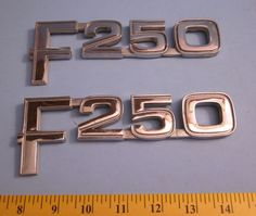 Ford F 250 Factory Body Emblems