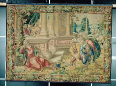 Brüssel 1520/1530; Neudatierung 2004: 1540er Jahre Umkreis des Bernaert van Orley (1488 - 1541 Brüssel) - GND 5. Der alte Tobit bestattet einen erschlagenen Israeliten und erblindet Medieval Manuscript, Renaissance, Painting, Painting Art, Paintings, Painted Canvas, Drawings