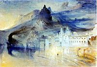 John Ruskin #watercolor of the Almafi Coast  Guide to watercolor inspired by the masters coming out in September, 2014: http://www.abramsbooks.com/Books/Tate_Watercolor_Manual-9781849760881.html
