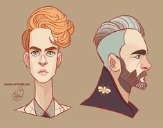 Character Design - Random Guys 02 by MeoMai.deviantart.com on @DeviantArt