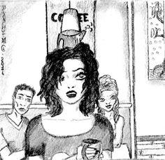 """#Roman #Fantastique #Illustration - Notre héroïne en butte au sadisme de sa colocataire dans """"Le Sang des Wolf"""" Chapitre XIV(1)"""
