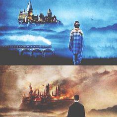 The Beginning of Hogwarts to the Destruction of Hogwarts