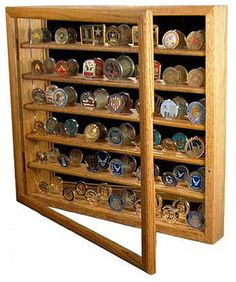 Military coin display - love the rustic look | Home - Decor ...