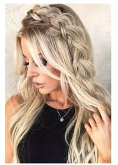Braids Bohemian Style >❄️< A braid crown will come in handy at any time, since no matter where you go, with such hair you will always look gorgeous and one of a kind! Spring Hairstyles, Box Braids Hairstyles, Pretty Hairstyles, Wedding Hairstyles, Everyday Hairstyles, Hairstyles Haircuts, Beauté Blonde, Twist Braids, Messy Braids