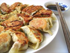 Pork, Shrimp, and Shiitake Mushroom Potstickers