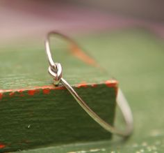 Tiny Knot Ring in Sterling Silver by indiaylaluna on Etsy