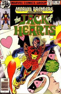 Marvel Comics Group - Approved By The Comics Code - Jack Hearts - Superhero - Heart - Keith Giffen