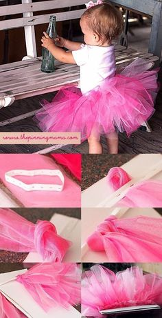DIY a no-sew tutu for any kid-at-heart. | Here's How To Tie Anything And Everything