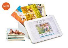 Una novità!  Una scatola in latta personalizzabile con foto...  Noi ve la proponiamo anche per i nostri servizi fotografici in un modo unico e inimitabile.  Personalizzata per ogni necessità.  Chiedici info al 347/6998220
