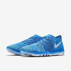 Nike Free Transform Flyknit Damen-Trainingsschuh Blue Glow/Deep Royal Blue/Racer Blue/Weiß