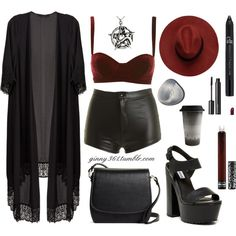 G147 by perenyigina on Polyvore featuring Steve Madden, Brooks Brothers, Kat Von D and Witchery