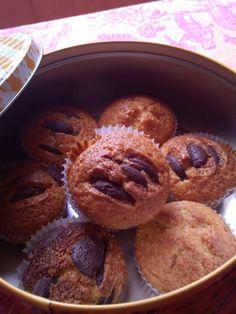 donabimby: Choco chips muffins /Queques com drageias de chocolate