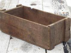 primitive wooden flower pot - Google Search