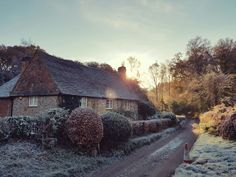 English country cottage Surrey hills