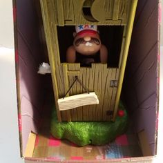Redneck Outhouse Says Lots of Funny Phrases Farts Three Songs New In Box Video #BigLots #GagGift