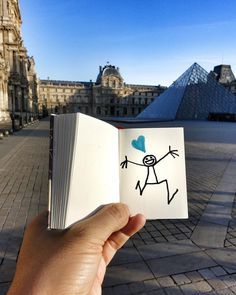 Here you are my Paris  #WeAreOne #PeaceforParis #Louvre