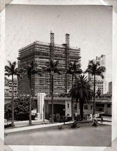 Construção do Edifício Matarazzo, atual sede da Prefeitura de São Paulo  Ano: s/d  Autor: desconhecido