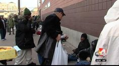 Homeless outreach groups are introducing a new strategy to help the homeless.