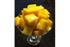 Сахар заменитель 2 стакана, тертая цедра лимона – 1 ст.л., желатин – 50 г, сок лимона – 350 г.  Натереть 1 ст. л. цедры лимона. Выдавить сок лимона. Довести сок с цедрой до кипения и проварить на маленьком огне около 5 мин. Процедить. В жидкость добавить желатин, размешать. После того как желатин растворится, добавить сахарозаменитель, тщательно перемешать.  После того, как жидкость немного остыла, выливаем её в прямоугольный контейнер, покрытый бумагой для выпечки. Убираем форму с…