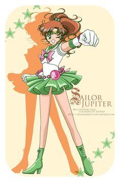 Sailor Jupiter by Selinmarsou