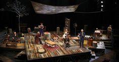 Uncle Vanya. Round H - Uncle Vanya. Round House. Scenic design by Misha Kachman. 2015 --- #Theaterkompass #Theater #Theatre #Schauspiel #Tanztheater #Ballett #Oper #Musiktheater #Bühnenbau #Bühnenbild #Scénographie #Bühne #Stage #Set