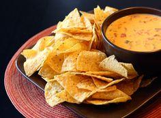 Nacho Cheese Dip from favfamilyrecipes.com #nachos