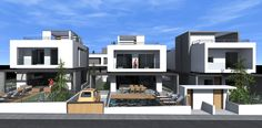 T Housing Complex in Thermi, Thessaloniki Thessaloniki, Villa, House, Haus, Fork, Home, Villas, Houses